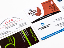 Bemis Printing Business Cards